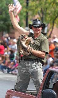 Ernie Brown Jr., better known as The  Turtleman, attained a new level of fame with his own television show on Animal Planet.