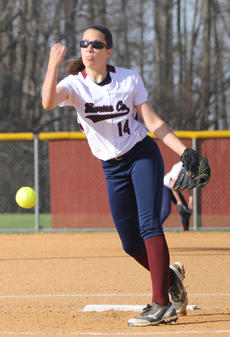 """<div class=""""source"""">Nick Schrager</div><div class=""""image-desc"""">Marion County freshman pitcher Allison Maupin pitches the ball in the first inning of last week's win over Danville.</div><div class=""""buy-pic""""><a href=""""/photo_select/33776"""">Buy this photo</a></div>"""