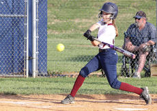 """<div class=""""source"""">Nick Schrager</div><div class=""""image-desc"""">Seventh grade outfielder Abby Scott takes a swing late against Danville. </div><div class=""""buy-pic""""><a href=""""/photo_select/33778"""">Buy this photo</a></div>"""