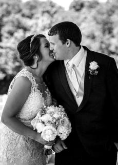 """<div class=""""source"""">provided</div><div class=""""image-desc"""">Caleb Clark had made it a goal for himself to be able to walk without the aid of crutches by the date of his wedding — and he did.</div><div class=""""buy-pic""""></div>"""