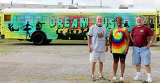 "<div class=""source"">Marlena Stokes</div><div class=""image-desc"">From left, Joe Dant, Gayle Bell and Barney Bishop stand in front of the Marion County Public Schools Dream Bus. </div><div class=""buy-pic""><a href=""/photo_select/67618"">Buy this photo</a></div>"