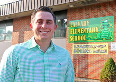 """<div class=""""source"""">Stevie Lowery</div><div class=""""image-desc"""">Paul Terrell was recently hired to be principal at Calvary Elementary School. He's been an English language arts teacher at the former Lebanon Middle School since 2012. And while he's the youngest administrator in the district, he doesn't think that should be viewed as a weakness. """"Age may throw some question marks up for people, but it's not my age that will define how I perform as a principal."""" He later added, with a laugh, """"Besides, I'll be 29 in a few months.""""</div><div class=""""buy-pic""""><a href=""""/photo_select/56855"""">Buy this photo</a></div>"""