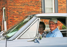 "<div class=""source"">Emily LaForme</div><div class=""image-desc"">Betty and Pete Gupton of Campbellsville sit in their old car for the first time in more than 36 years. They were reunited with the 1966 Chevrolet Chevelle SS by the current owner, Chuck Frame, a Toronto, Canada native.</div><div class=""buy-pic""><a href=""/photo_select/62710"">Buy this photo</a></div>"