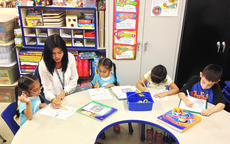 "<div class=""source"">Photo submitted</div><div class=""image-desc"">Students in the migrant program participate in after school programs at the 21st Century Learning Center. At left, Kaydi Renteria gets some help from migrant advocate and teacher Elma Simpson while Kandi Renteria, Jennifer Olivera and Angel Olivera work on their own assignments.</div><div class=""buy-pic""></div>"