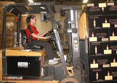 "<div class=""source"">Stephen Lega</div><div class=""image-desc"">Theresa Downs operates a forklift to move cases of Maker's Mark. </div><div class=""buy-pic""><a href=""/photo_select/36677"">Buy this photo</a></div>"