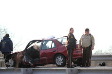 """<div class=""""source"""">The Springfield Sun</div><div class=""""image-desc"""">Fern Cooley of Lebanon was driving a 1998 maroon Cavalier southbound on Springfield Highway. Her daughter, Carrie Mann, was a passenger in the vehicle. Judy O. Filiatreau of Springfield was driving north in a 1991 Oldsmobile when she crossed the center line and struck a southbound 1995 Chevy truck, being driven by William R. Bishop of Campbellsville. According to the accident report, Filiatreau then re-entered the northbound lane, striking the Cavalier being driven by Cooley.</div><div class=""""buy-pic""""></div>"""