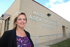 """<div class=""""source"""">Stevie Lowery</div><div class=""""image-desc"""">Christina McRay is the new principal at the Marion County Area Technology Center.</div><div class=""""buy-pic""""><a href=""""/photo_select/52571"""">Buy this photo</a></div>"""