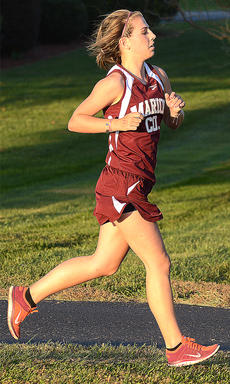 """<div class=""""source"""">Bailey Foxworth</div><div class=""""image-desc"""">Rae Mills led the Lady Knights in the Campbellsville Last Chance Meet on Thursday, Oct. 22. She placed fourth overall with a time of 23:27.60. </div><div class=""""buy-pic""""><a href=""""/photo_select/45633"""">Buy this photo</a></div>"""