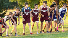 """<div class=""""source"""">Bailey Foxworth</div><div class=""""image-desc"""">The Knights eagerly wait for the start of the Campbellsville Last Chance Meet on Thursday, Oct. 22. The Knights were led by sophomore Ty Wheeler, who finished 16th overall, with a time of 21:20.00. </div><div class=""""buy-pic""""><a href=""""/photo_select/45634"""">Buy this photo</a></div>"""