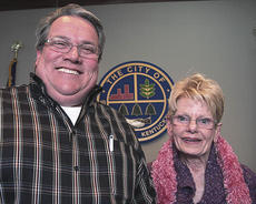 """<div class=""""source"""">Stephen Lega</div><div class=""""image-desc"""">Monday night was the final regular meeting for Lebanon city council members Bill Pickerill, left, and Elizabeth Ann Osbourne.</div><div class=""""buy-pic""""><a href=""""/photo_select/8875"""">Buy this photo</a></div>"""