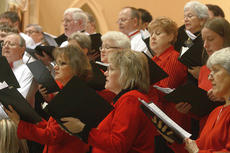 """<div class=""""source"""">Stephen Lega</div><div class=""""image-desc"""">The Mid-Kentucky Chorus fills St. Augustine with song. </div><div class=""""buy-pic""""><a href=""""/photo_select/31645"""">Buy this photo</a></div>"""