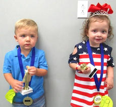 """<div class=""""source""""></div><div class=""""image-desc"""">2-4-year-old winners Austin Lewis, son of Stephanie Mays and Roy Lewis. Eden Louise Parman, daughter of Brooke Lee and Clint Parman. </div><div class=""""buy-pic""""></div>"""