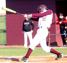 "<div class=""source"">Gerard Flanagan</div><div class=""image-desc"">Parker Barnett takes a swing in Marion County's 5-2 win over Taylor County on April 9 at Dave Hourigan Field. </div><div class=""buy-pic""><a href=""/photo_select/60664"">Buy this photo</a></div>"