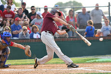 "<div class=""source"">Jessica Veatch</div><div class=""image-desc"">Senior Aaron Hamilton connects with the baseball during an at bat against Adair County in the first round of the 20th District Tournament.</div><div class=""buy-pic""><a href=""/photo_select/20197"">Buy this photo</a></div>"