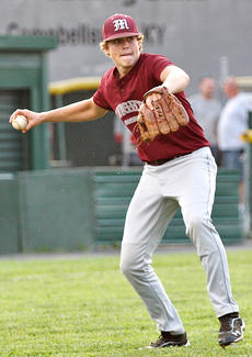 "<div class=""source"">Jessica Veatch</div><div class=""image-desc"">Senior Dylan Spalding comes off the mound to make a play in the district loss against Adair County on Tuesday of last week at Taylor County High School.</div><div class=""buy-pic""><a href=""/photo_select/20196"">Buy this photo</a></div>"