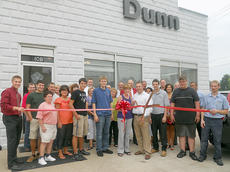 "<div class=""source"">Photo submitted</div><div class=""image-desc"">On Friday, Aug. 19, the Marion County Chamber of Commerce hosted a ribbon cutting for Dunn Chrysler.  Dunn Chrysler is located at 108 N. Depot Street, Rita and Will Dunn can be reached at 270-692-2126.</div><div class=""buy-pic""></div>"