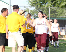 "<div class=""source"">Nick Schrager</div><div class=""image-desc"">Savannah Johnson shakes hands with  Clay County's coach after Monday's game in the state softball tournament. </div><div class=""buy-pic""><a href=""/photo_select/28361"">Buy this photo</a></div>"