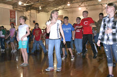 "<div class=""source"">Stephen Lega</div><div class=""image-desc"">After lunch, the older West Marion Elementary students lined up for a gym-sized dance lesson.</div><div class=""buy-pic""><a href=""/photo_select/11593"">Buy this photo</a></div>"