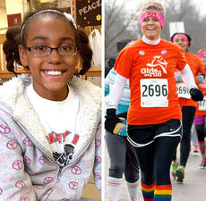 """<div class=""""source""""></div><div class=""""image-desc"""">Pictured is Girls on the Run Coach Stevie Lowery and Ebony Dotson, a GOTR participant, who nominated Lowery for the Coach of the Year Award.</div><div class=""""buy-pic""""></div>"""