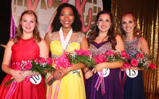 """<div class=""""source"""">Stevie Lowery</div><div class=""""image-desc"""">Pictured, from left, are first runner-up Jane Palagi, winner Leah Hazelwood, second runner-up Harmony Lanham and third runner-up Caroline Piekarski.</div><div class=""""buy-pic""""><a href=""""/photo_select/56995"""">Buy this photo</a></div>"""