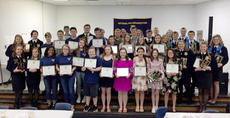 """<div class=""""source"""">Photos submitted</div><div class=""""image-desc"""">Over 200 FFA members, family and community members attended the annual Marion County FFA banquet on May 11 in the high school cafeteria. The banquet recognized the achievements of the members for the 2017-18 school year.</div><div class=""""buy-pic""""></div>"""