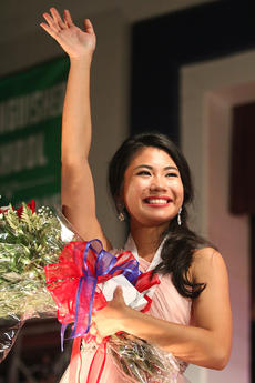 "<div class=""source"">Stevie Lowery</div><div class=""image-desc"">Sophie Clark waves to the crowd after being named the 2017 Marion County Distinguished Young Woman.</div><div class=""buy-pic""><a href=""/photo_select/50886"">Buy this photo</a></div>"
