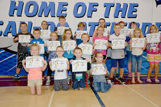"""<div class=""""source"""">Photo submitted</div><div class=""""image-desc"""">West Marion Elementary would like torecognize thefollowing PAGES for the month of September. These students exhibit a can-do attitude each day at school. Pictured are front row, from left, Kaylen Bartley, Clay Miles, Harlan Ballard, and Lauren Thompson; middle row, William Graham, Kylie Edelen, Payten Newton, Noah Hill, Gracie Mattingly, Charlie Mattingly, Sophia Wheatley, and Britney Beaven; and back row, Austin Lyvers, Johnny Sprowles, Carson Osborne, Aaron Bickett, Jenna Brown, Brooke Cambron, and Michaela Peterson. Not pictured are Elijah Lyvers, Lila Bickett, McKenna Thomas, andCole Hayden. </div><div class=""""buy-pic""""></div>"""