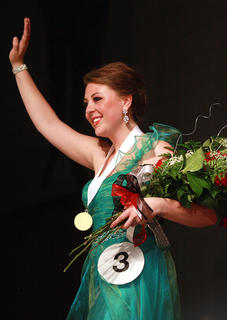 Hannah Wilson, the 2013 Marion County Distinguished Young Woman, will represent the county at the state competition Jan. 11 in Lexington.