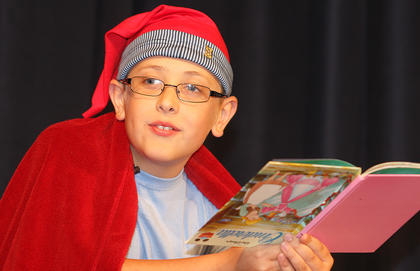 "The inaugural ""Marion County's Got Talent"" show at Angelic Hall in Lebanon included 13 acts, including singers, dancers and comedians. During the showcase, Zachary Brady, 9, who wants to be a comedian when he grows up, won first place in the pre-teen division by telling the story of ""Rindercella."""