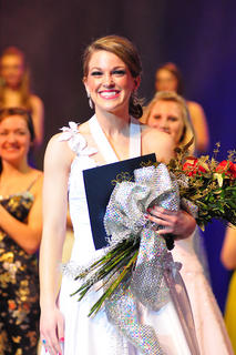 Christine Mattingly won the Kentucky Junior Miss competition Saturday evening, Jan. 15. She also won preliminary awards in scholastics, self-expression and talent and the overall fitness award. To purchase photos to go: www.carpe-imago.smugmug.com.