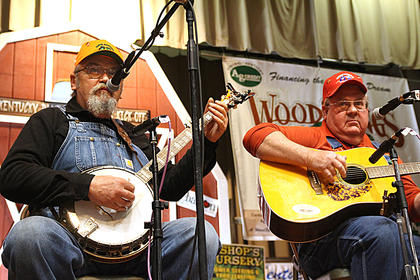 The Moron Brothers returned to the Kentucky Bluegrass Music Kickoff with their blend of bluegrass and good humor.