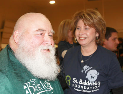 Fourth-time participant Steve Norris (also known as Santa) keeps coming back because of his love for kids.
