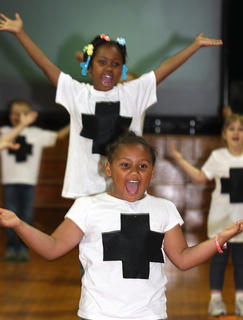 Students at A.C. Glasscock Elementary School performed in the annual Student Showcase last week. Each grade level had a special theme, which included dare to be positive, dare to be brave, dare to be a friend, dare to follow your heart, dare to be happy, dare to be me and dare to be great.