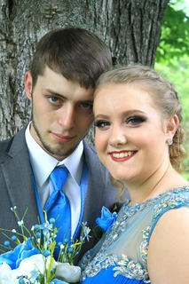 Pictured are Zack Terrell and Gracie Cooper.