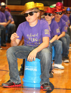 Pictured is fifth grader Nathan Long.