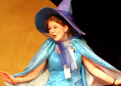 Carrie Fowler plays the part of Merryweather.