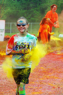 The Color in Motion 5K brought out runners of all ages.