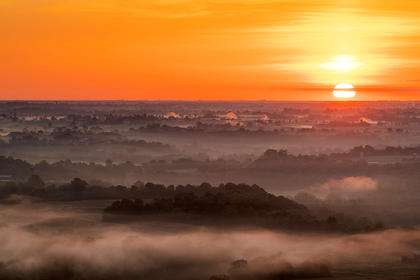 "Don Sniegowski took this photo of the sunrise on Tuesday, May 7. ""Each time I drive up to Scott's Ridge, I am greeted with a different scene and photograph,"" he wrote to the Enterprise. Sniegowski graciously shares some of his photography with the Enterprise to publish."
