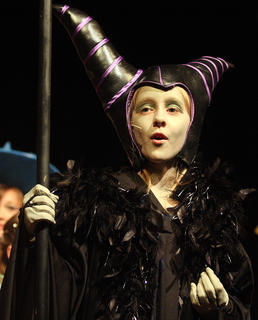 Gracie Wilson plays the evil Malificent.