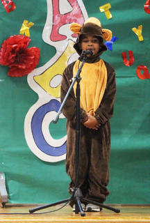 Amare Curry as Morgan the Monkey, who likes to mamba.