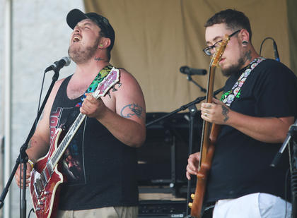 "Brothers Jake Nalley and Chris ""Riff"" Nalley formed their band, RYPT, with friend Aarron Brady."