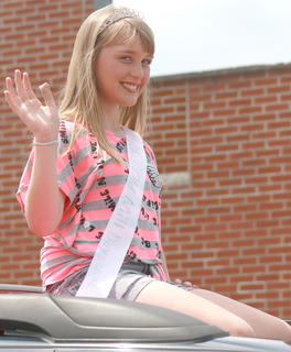 Tiffany Clarkson was named the 2012 Miss Old Mill Day.