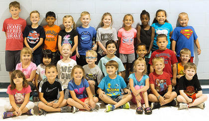 This group of adorable students participated in the Move and Groove Camp June 5-9.