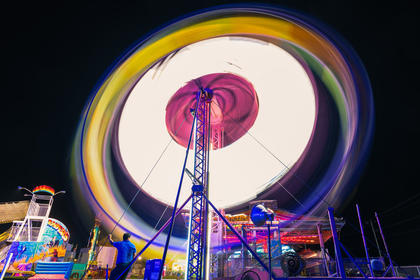 Professional photographer Don Sniegowski shared several photos with the Enterprise that he took at the fair Friday evening.
