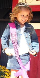 Lila Grace Bickett was the Little Miss Ham Days winner. She is the daughter of Jamie and Jessica Bickett.