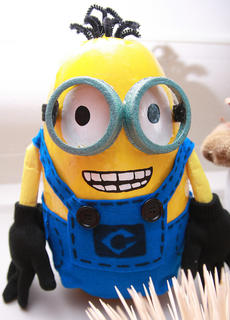 """Fans of the movie """"Despicable Me"""" may recognize one of  the minions."""