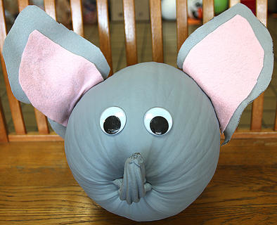 This pumpkin has transformed into the Saggy Baggy Elephant, which is a tale that has been treasured by parents and children for more than 50 years.
