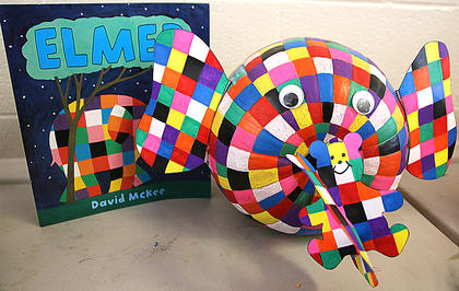 This pumpkin looks just like Elmer the elephant, who is made fun of for his bright-colored patchwork. If he were an ordinary elephant color, the others might stop laughing. That would make Elmer feel better, wouldn't it? The surprising conclusion of David McKee's comical fable is a celebration of individuality and the power of laughter.