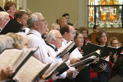 "The Mid-Kentucky Chorus of St. Catharine College performed its concert ""The Beautiful Music of Christmas"" Sunday afternoon at St. Augustine Church in Lebanon. The music included standards like ""O Holy Night"" and ""Adeste Fideles"" and more lively songs, like ""Calypso Lullaby""."