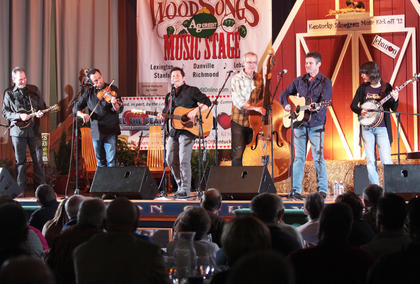 The Grascals were the headlining performers Saturday night. This was their second appearance at the Kentucky Bluegrass Music Festival.
